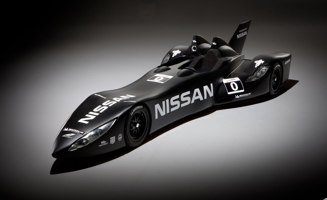 Dissected: Nissan-Powered DeltaWing Race Car