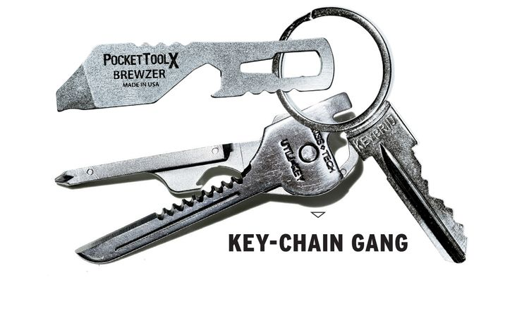 Mini Gearbox: Make Your Key Ring More Versatile with These Multitools