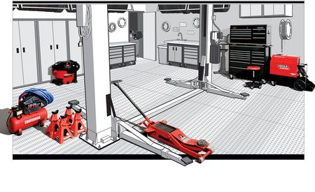 The Well-Equipped Garage: Everything You Need to Create Yours