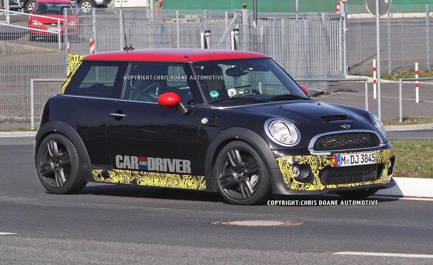 2013 Mini Cooper John Cooper Works GP II (spy photo) - Slide 2