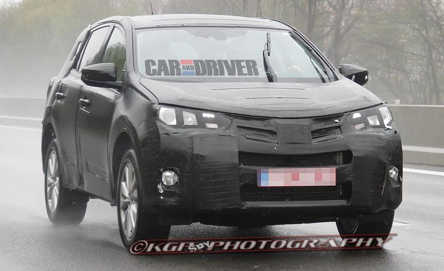 2013 Toyota RAV4 (spy photo) - Slide 10