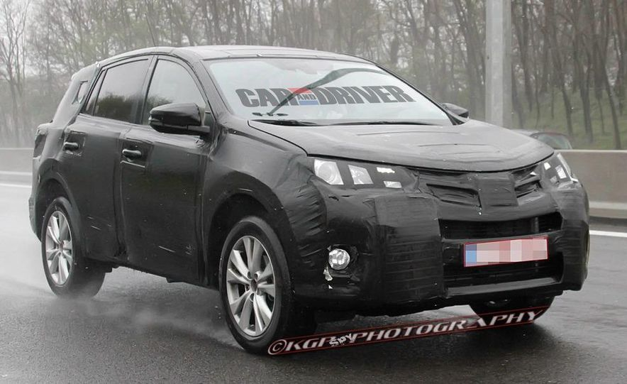 2013 Toyota RAV4 (spy photo) - Slide 11
