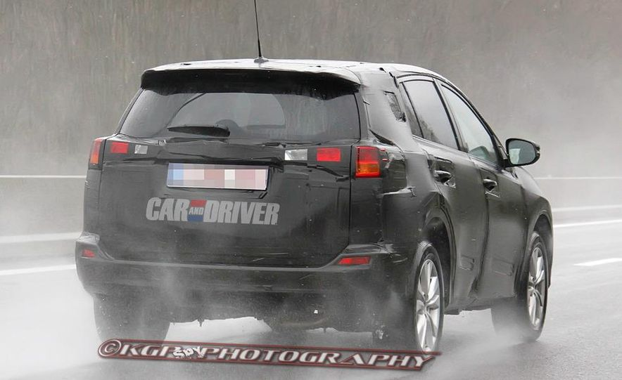 2013 Toyota RAV4 (spy photo) - Slide 12
