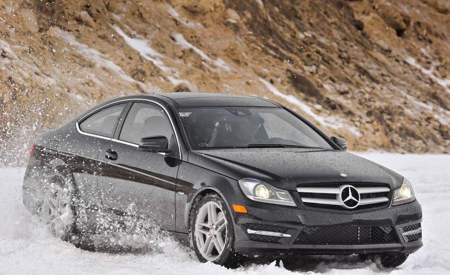 2012 Mercedes-Benz C350 4MATIC coupe - Slide 1