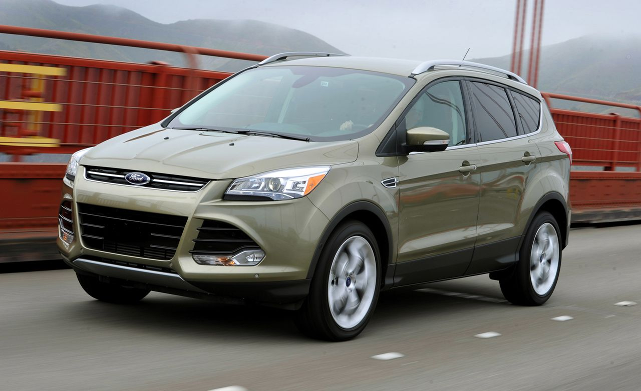 Ford escape reviews ford escape price photos and specs car and driver