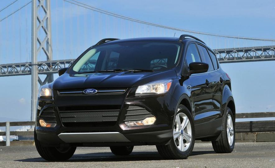 2013 Ford Escape Titanium EcoBoost - Slide 10