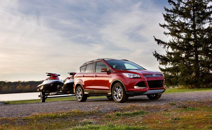 2013 Ford Escape Titanium EcoBoost - Slide 21
