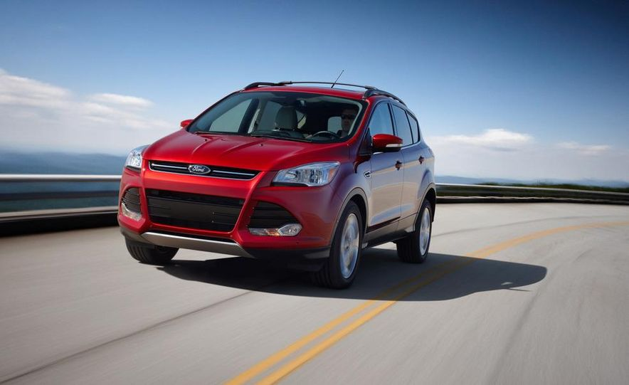 2013 Ford Escape Titanium EcoBoost - Slide 23