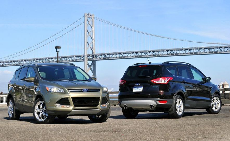 2013 Ford Escape Titanium EcoBoost - Slide 16