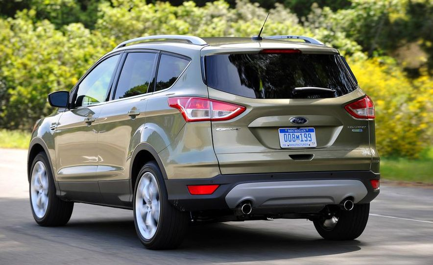 2013 Ford Escape Titanium EcoBoost - Slide 8