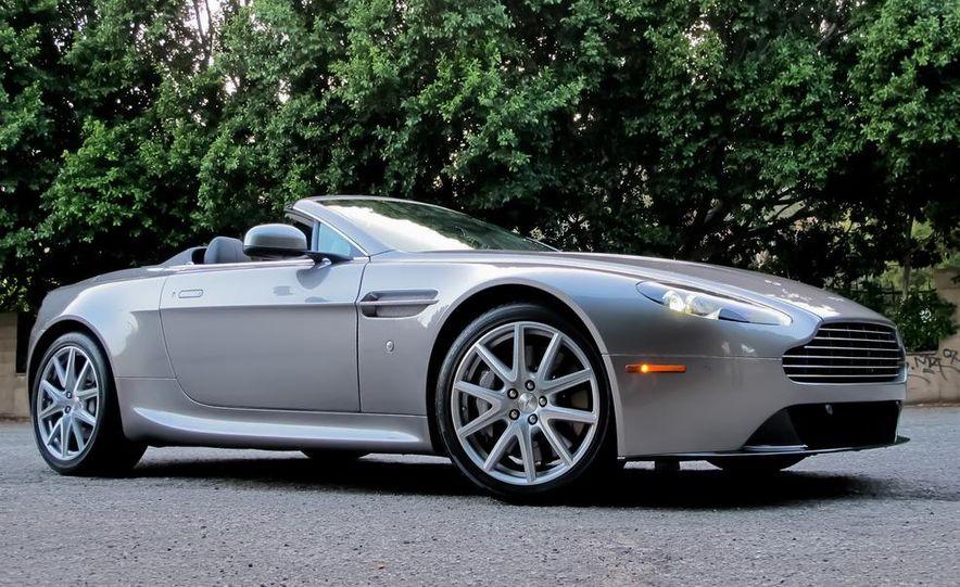 2012 Aston Martin V8 Vantage roadster - Slide 1