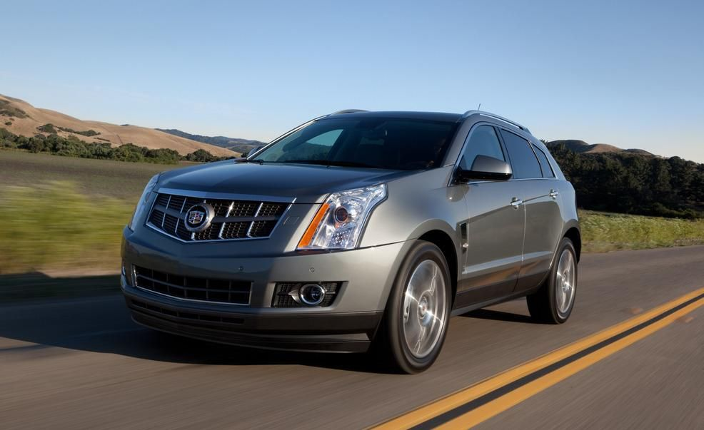 Cadillac SRX Reviews  Cadillac SRX Price Photos and Specs  Car
