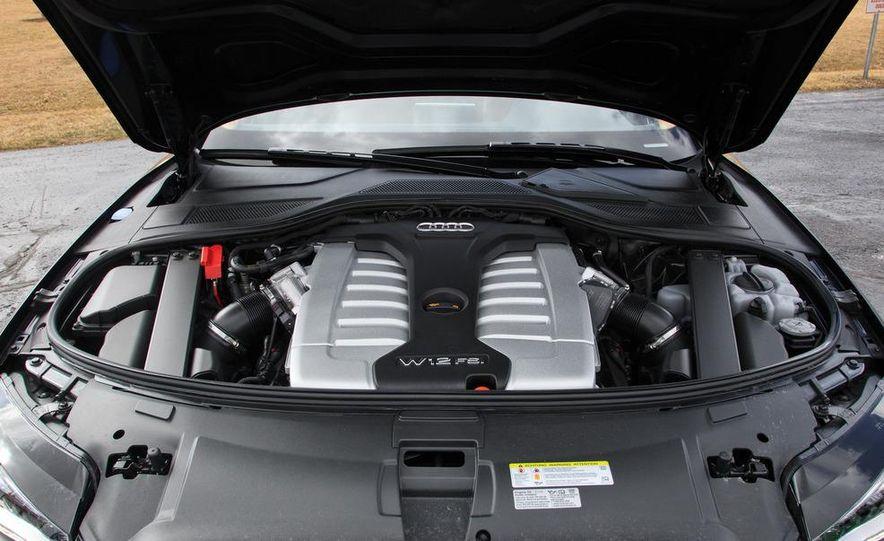 2012 Audi A8L W12 - Slide 25