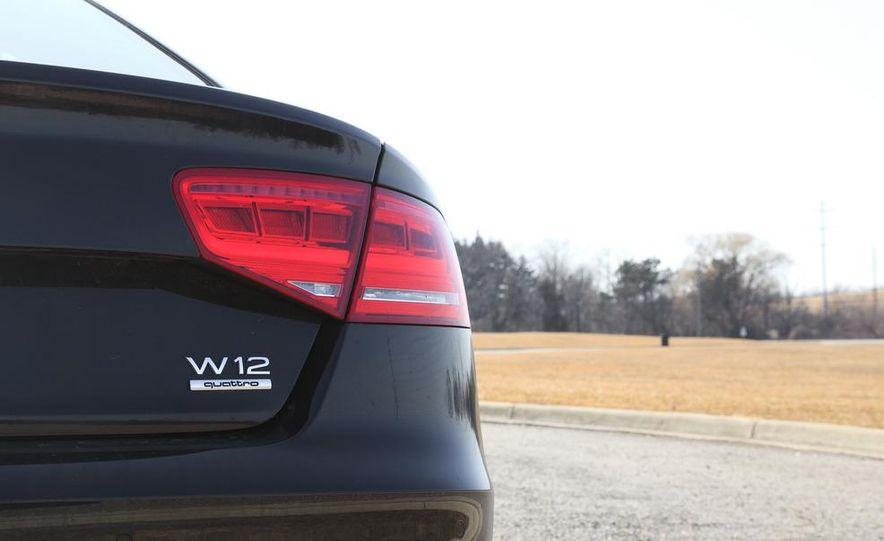 2012 Audi A8L W12 - Slide 11