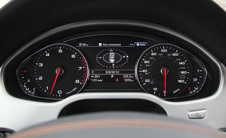 2012 Audi A8L W12 - Slide 23
