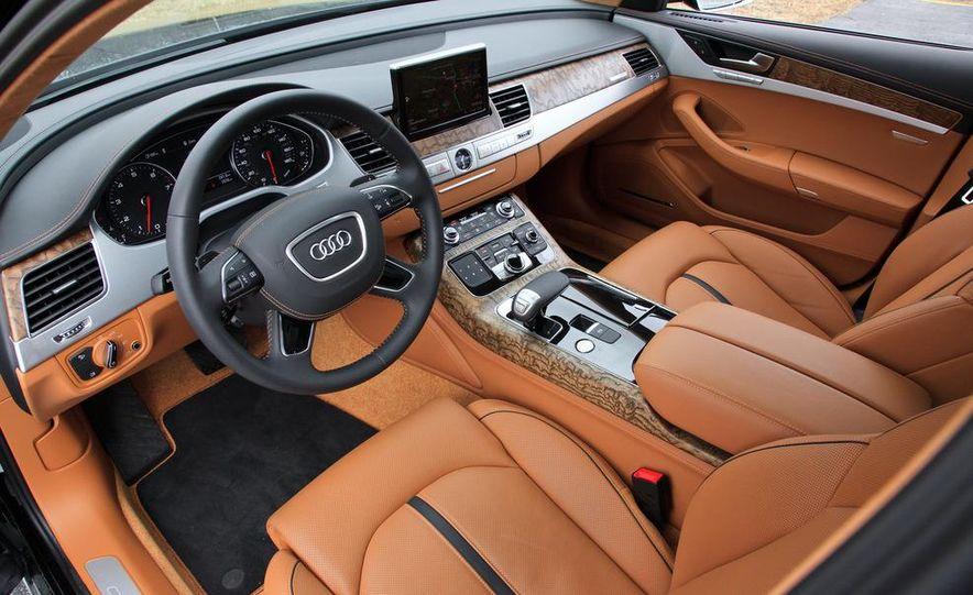 2012 Audi A8L W12 - Slide 15