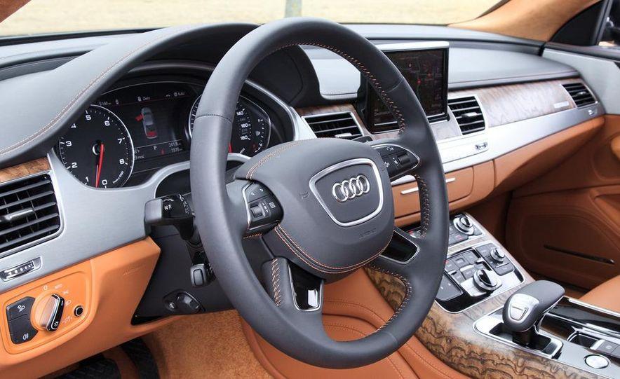 2012 Audi A8L W12 - Slide 16