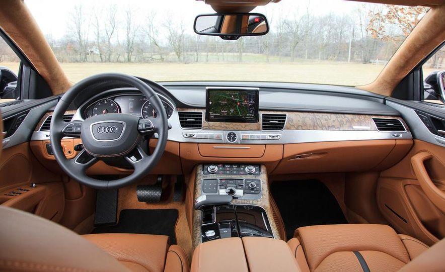2012 Audi A8L W12 - Slide 21