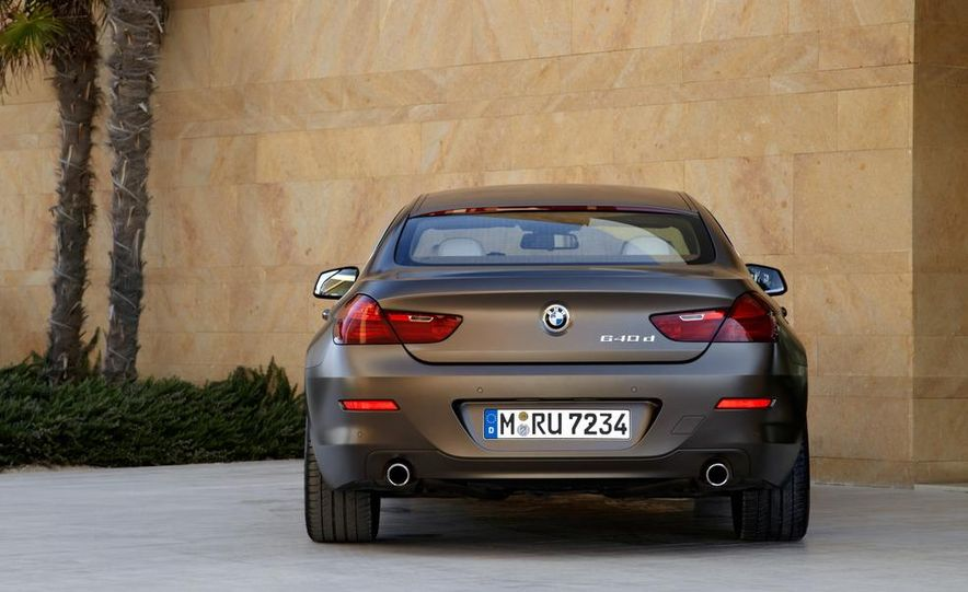2013 BMW 640i Gran Coupé - Slide 156