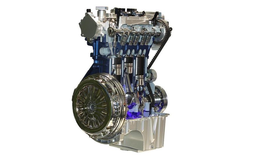 2012 Ford Focus 1.0L EcoBoost - Slide 19