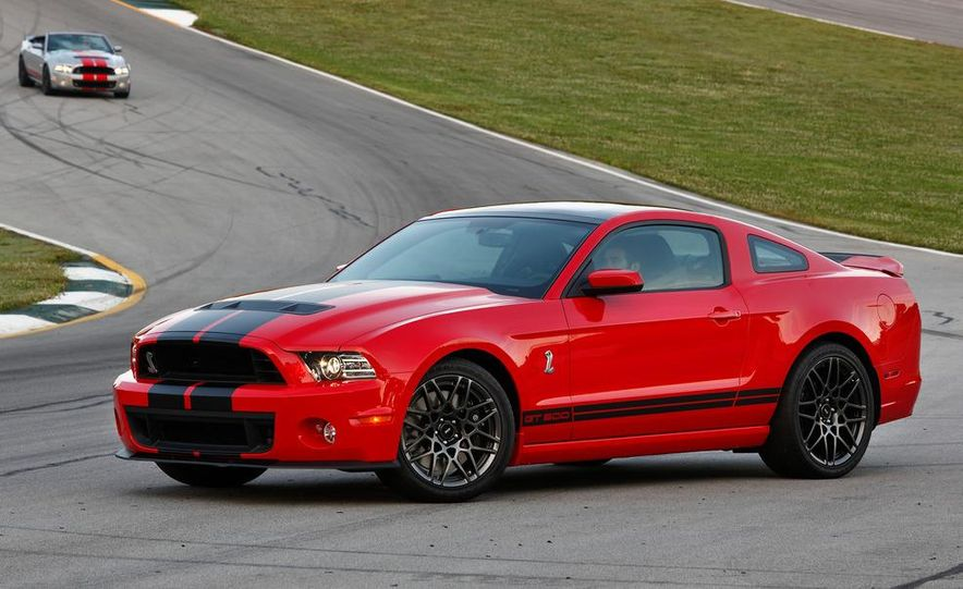2013 Ford Mustang Shelby GT500 coupe - Slide 66
