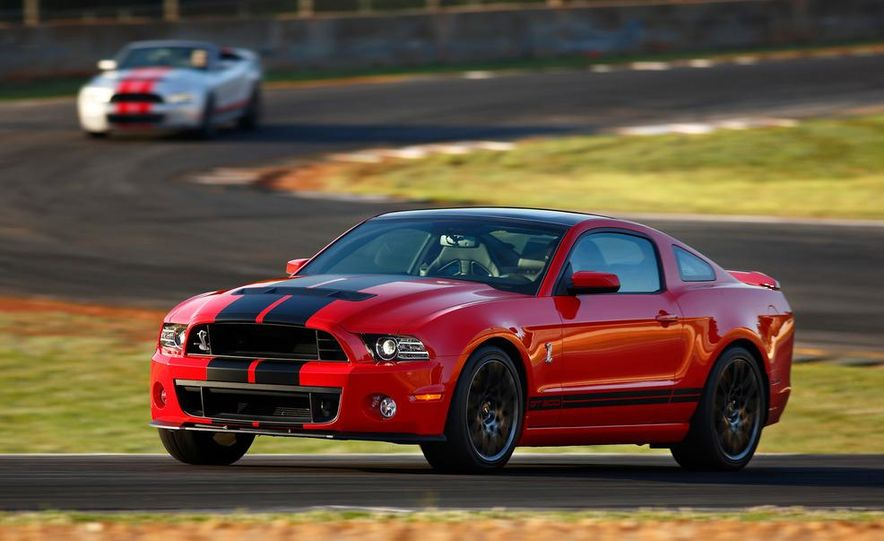 2013 Ford Mustang Shelby GT500 coupe - Slide 67