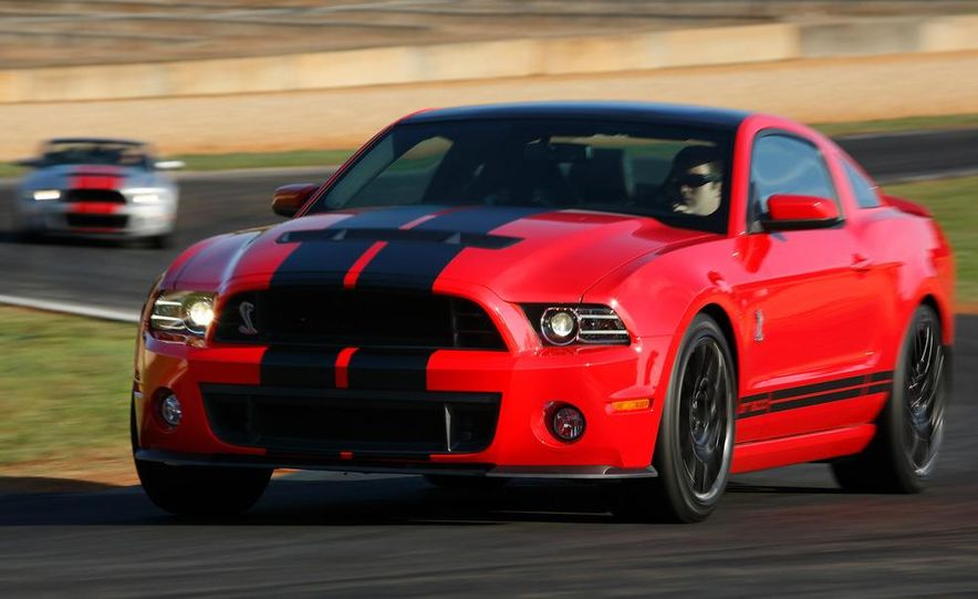 2013 Ford Mustang Shelby GT500 coupe - Slide 68