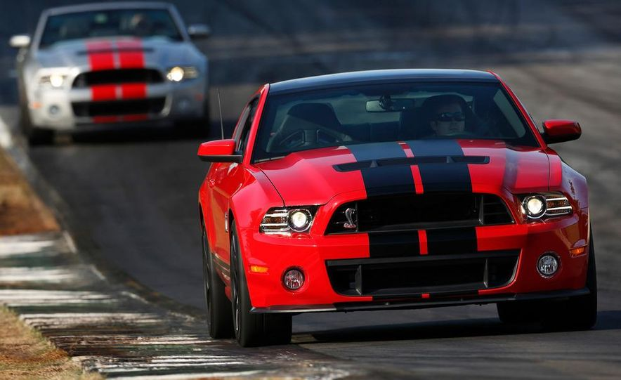 2013 Ford Mustang Shelby GT500 coupe - Slide 65