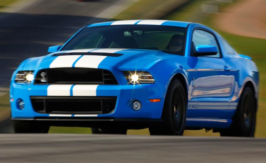 2013 Ford Mustang Shelby GT500 coupe - Slide 43