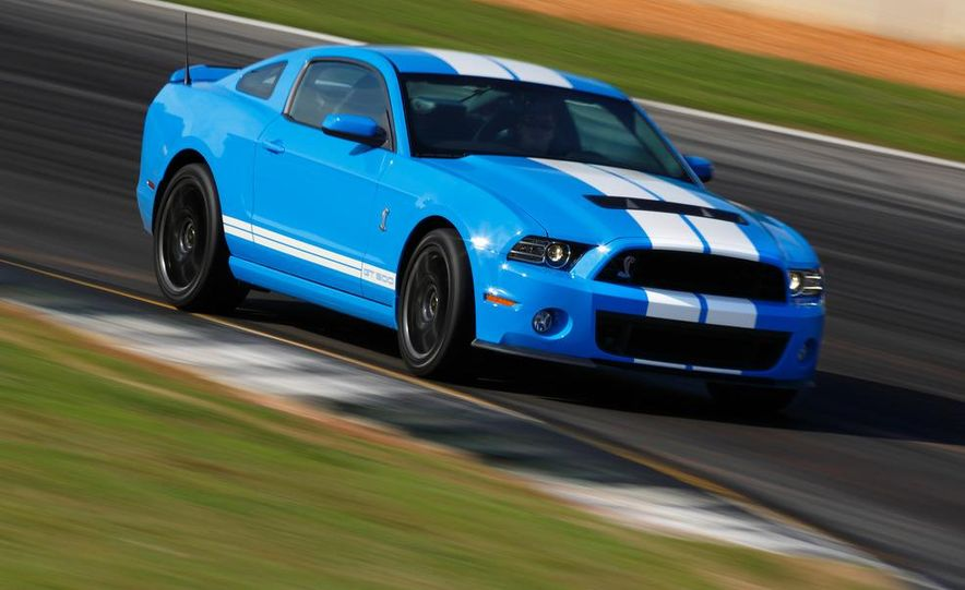 2013 Ford Mustang Shelby GT500 coupe - Slide 44