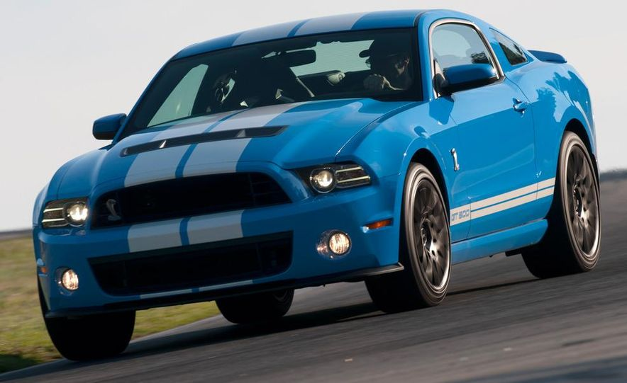 2013 Ford Mustang Shelby GT500 coupe - Slide 47