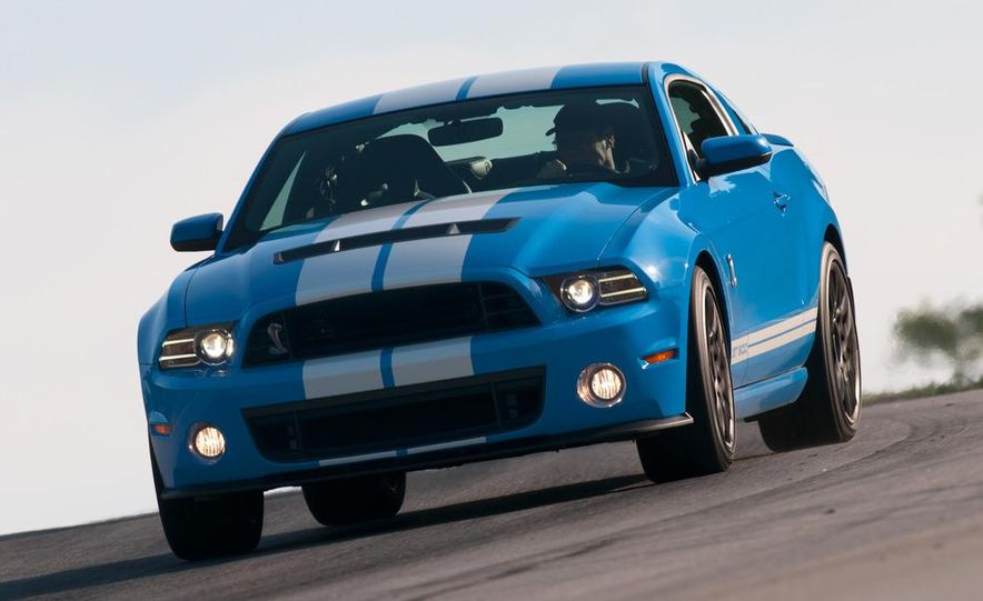 2013 Ford Mustang Shelby GT500 coupe - Slide 50