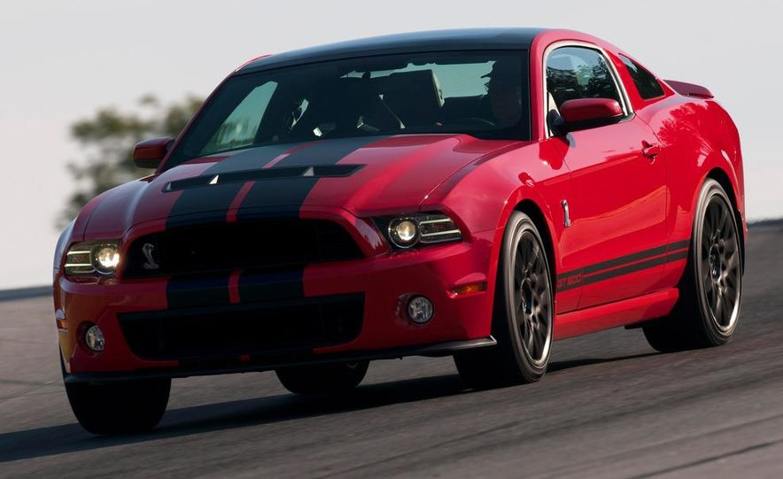 2013 Ford Mustang Shelby GT500 coupe - Slide 69