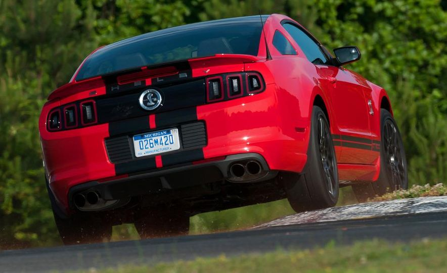 2013 Ford Mustang Shelby GT500 coupe - Slide 70