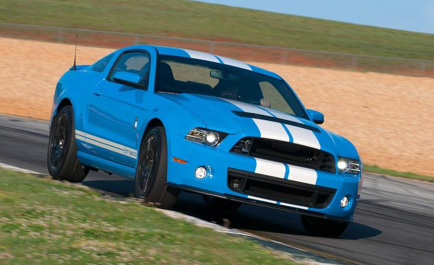 2013 Ford Mustang Shelby GT500 coupe - Slide 53