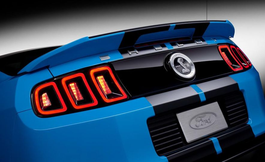 2013 Ford Mustang Shelby GT500 coupe - Slide 64