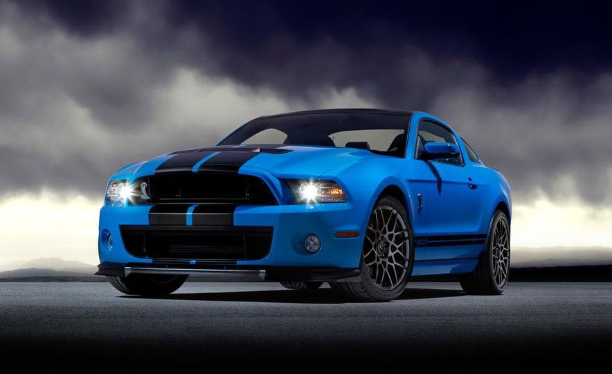 2013 Ford Mustang Shelby GT500 coupe - Slide 54