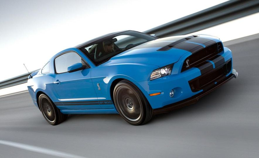 2013 Ford Mustang Shelby GT500 coupe - Slide 28
