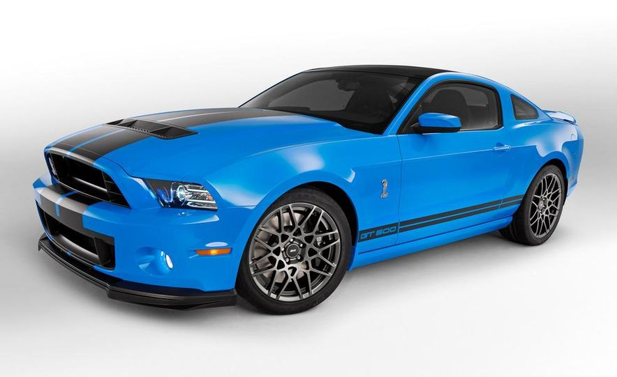 2013 Ford Mustang Shelby GT500 coupe - Slide 61