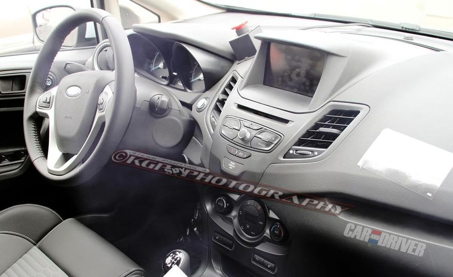 2014 Ford Fiesta ST 5-door (spy photo) - Slide 15