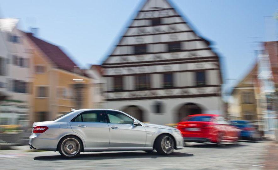 2012 Mercedes-Benz E63 AMG, 2013 Audi S6, and BMW M5 - Slide 9