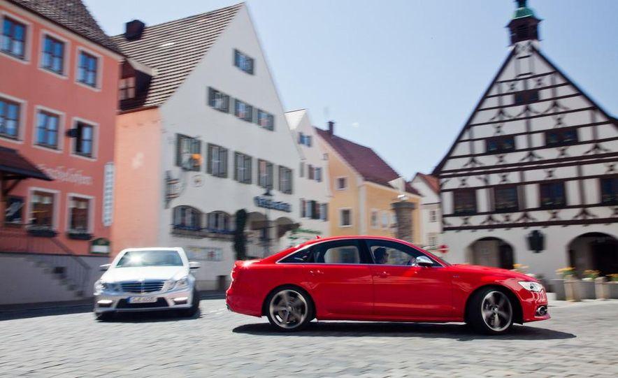 2012 Mercedes-Benz E63 AMG, 2013 Audi S6, and BMW M5 - Slide 17