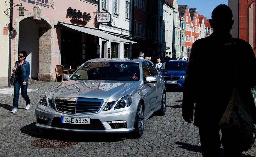 2012 Mercedes-Benz E63 AMG, 2013 Audi S6, and BMW M5 - Slide 15