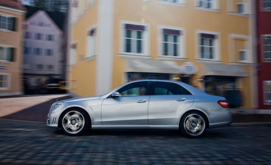 2012 Mercedes-Benz E63 AMG, 2013 Audi S6, and BMW M5 - Slide 33