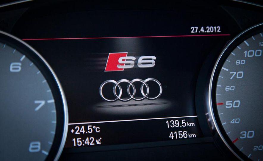 2012 Mercedes-Benz E63 AMG, 2013 Audi S6, and BMW M5 - Slide 64