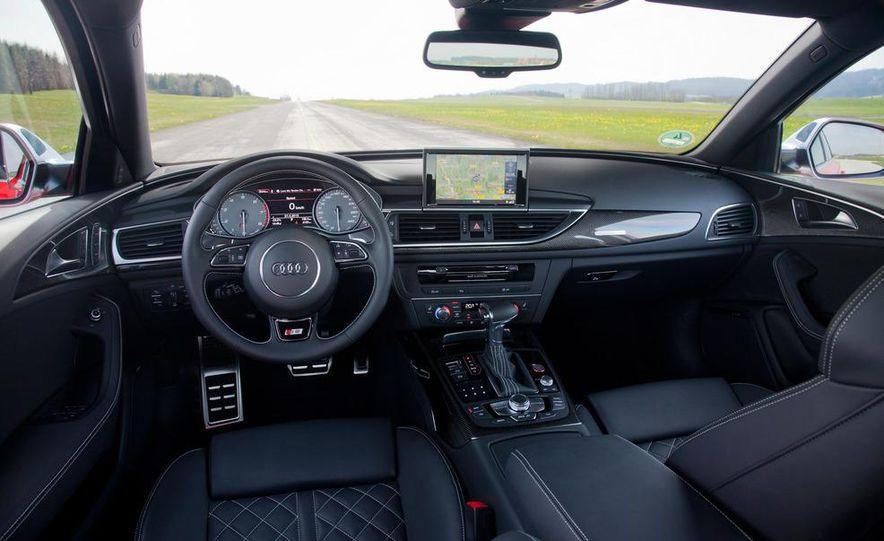 2012 Mercedes-Benz E63 AMG, 2013 Audi S6, and BMW M5 - Slide 59