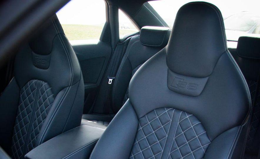 2012 Mercedes-Benz E63 AMG, 2013 Audi S6, and BMW M5 - Slide 60
