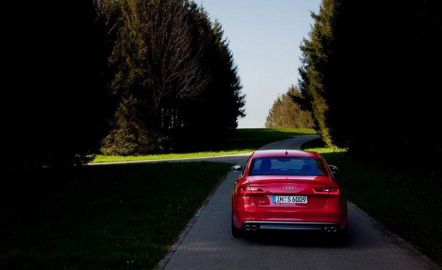 2012 Mercedes-Benz E63 AMG, 2013 Audi S6, and BMW M5 - Slide 51