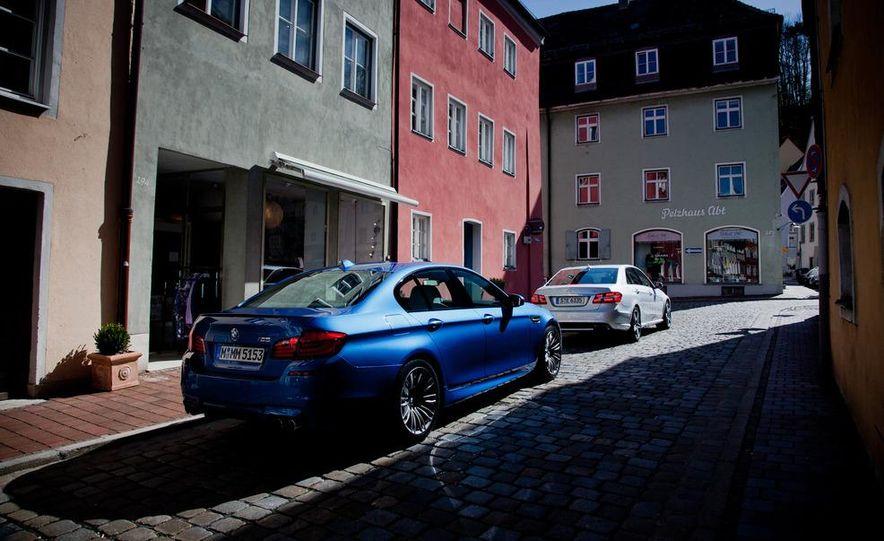 2012 Mercedes-Benz E63 AMG, 2013 Audi S6, and BMW M5 - Slide 13