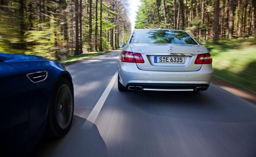 2012 Mercedes-Benz E63 AMG, 2013 Audi S6, and BMW M5 - Slide 19